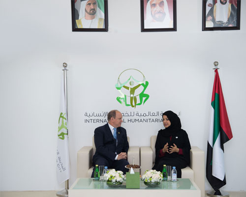 PRINCE ALBERT II OF MONACO VISITS IHC