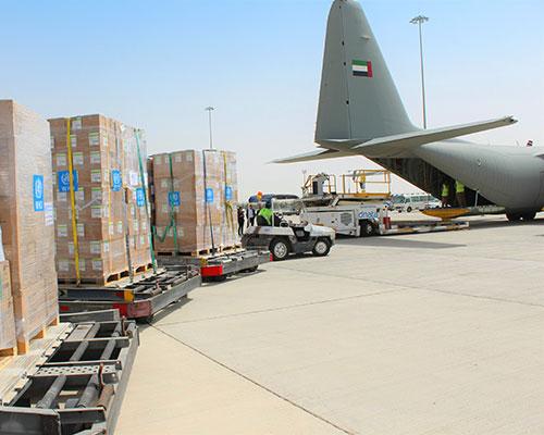 بدعم من دولة الإمارات .. إيصال إمدادات طبية من منظمة الصحة العالمية إلى إيران