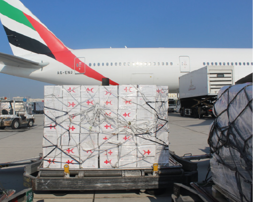IHC and IFRC send more aid from Dubai to Sudan