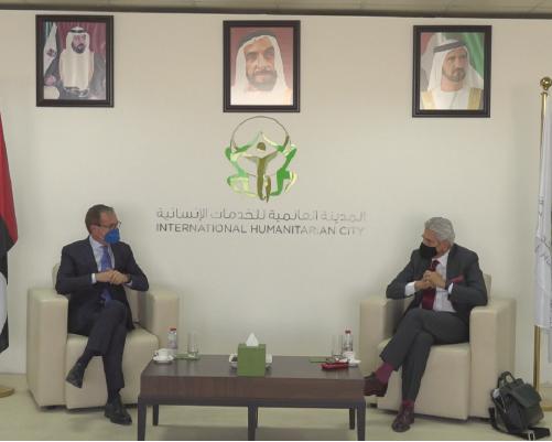Italian Diplomats Visits IHC