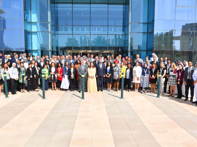Princess Haya attends IHC members global meeting
