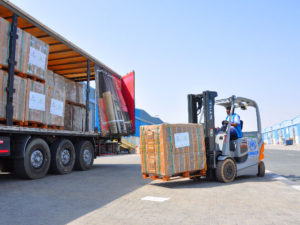 Tripling warehousing space to meet sharp rise in global demand for emergency aid worldwide