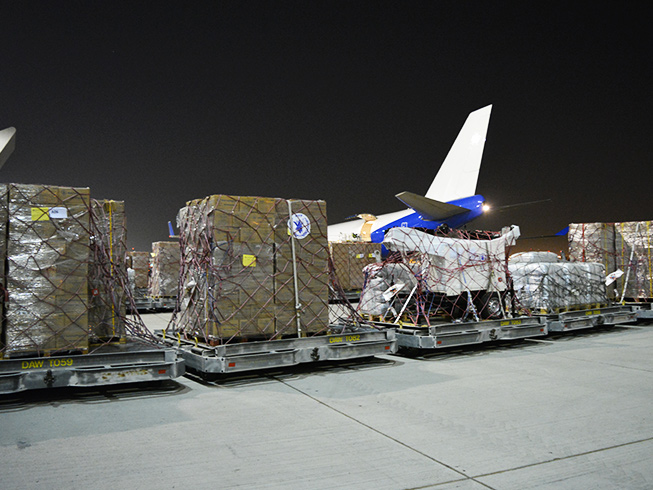 Emergency Relief Airlift to Haiti