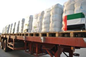Airlift for Gaza Ordered by HH Sheikh Mohammed bin Rashid Al Maktoum Resumes