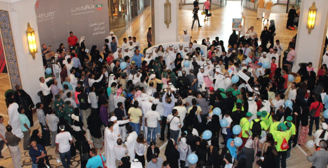 Dubai Hosts the World Humanitarian Day Walk in the World's Largest Mall