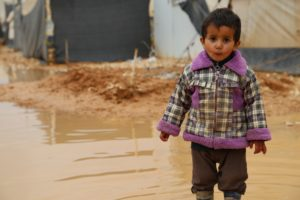 US$ 1 MILLION FROM DUBAI'S INTENRATIONAL HUMANITARIAN CITY HELPS WFP FEED STORM-HIT SYRIAN REFUGEES