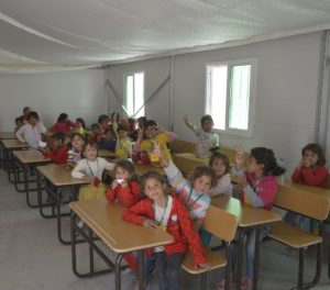 NRC Provides First Learning Opportunities in Azraq Camp