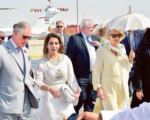 Prince Charles and Camilla visit Dubai's International Humanitarian City