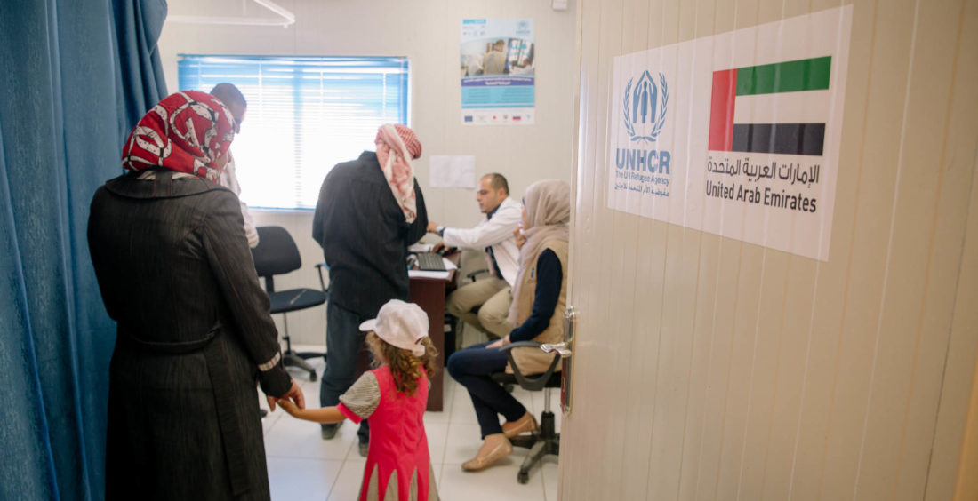 UAE-funded projects for Syrian refugees kick-started in Jordan