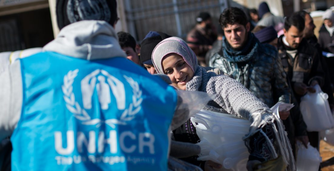 UNHCR launches winter campaign to protect refugees from harsh winter across the Middle East