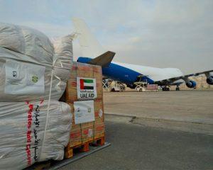 humanitarian aid to Jordan