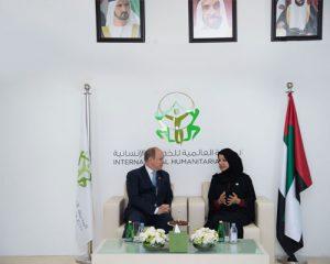 Prince Albert II of Monaco visits IHC