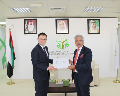 SENIOR OFFICIAL FROM THE BELARUSIAN HUMANITARIAN DEPARTMENT VISITS IHC