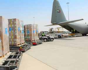 UNITED ARAB EMIRATES (UAE) AND INTERNATIONAL HUMANITARIAN CITY (IHC) SUPPORTING TECHNICAL AND RELIEF EFFORTS OF WHO IN RESPONDING TO COVID-19