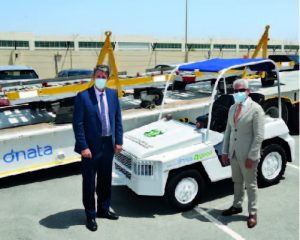 DNATA SUPPORTS GLOBAL RELIEF EFFORTS OF THE IHC BY DONATING INSTRUMENTAL HANDLING EQUIPMENT