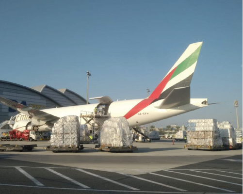 IHC HUMANITARIAN COMMUNITY FLYING TO ETHIOPIA AND SUDAN DELIVERING AID TO REFUGEES