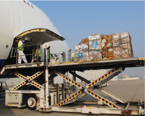 WHO & IFRC aid flight to sudan & ethiopia